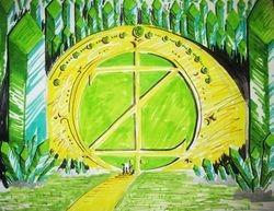 Gates of Emerald City.