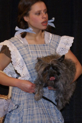 Dorothy and Toto.