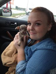 the first day I held her in my arms