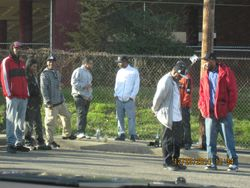 Hood$tar Video Shoot