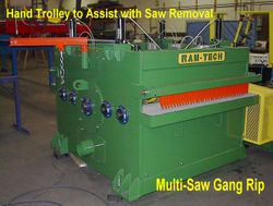 Full View of the Panel Rip Saw