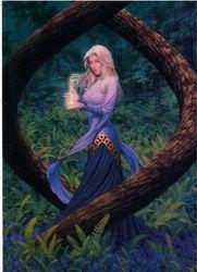 Goddess Ey from Meieydon Myths