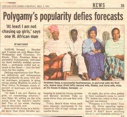 NEWS FLASH POLIGAMY
