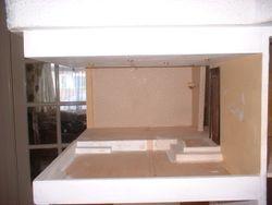 Top floor living/dining room