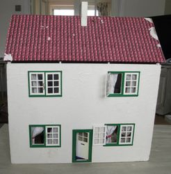 The Cornish Cottage on arrival