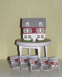 Advent day 5 Doll house display