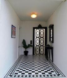 Poirot's hallway