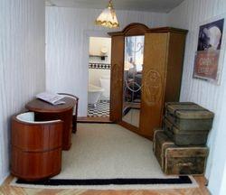 Poirot's dressing room