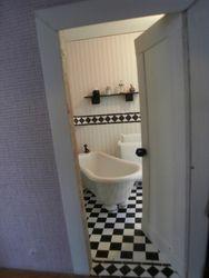 Wallis' bathroom
