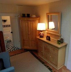Bertie's dressing room