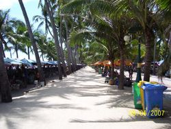 Beach at Bang Saen Near Sattahip 2009