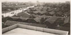 Bangkok view 1964- notice no Skyscrapers!