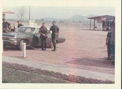 558th S&S BN CO-LTC Eckles@ Kanchanaburi 1968-69