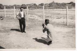 Me taking photo of Hughes@  Udorn 1964