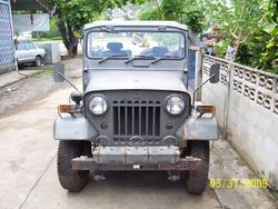 Post WWII jeep built by Japs.