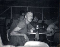 Me at Udorn EM Club 1964-thats really tobacco