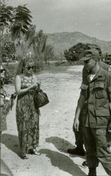 Ann Margaret visiting Kanachanaburi 1968