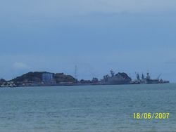 Another view of Deep Water Port