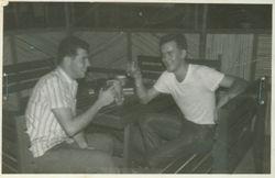 Me and Bojarski at Udorn EM Club 1964