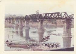 Bridge Over the River Kwai at Kanachanaburi