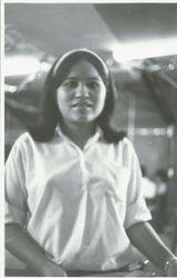 Waitress at EM/NCO Club at Kanchanaburi
