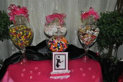 **CANDY BUFFET for GRADUATION PARTY**