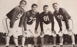 Niners backfield 1947