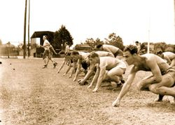 Redskins practice 1938