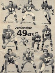 1955 San Francisco  Forty Niners