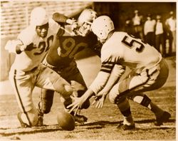 1946 AAFC Action-Browns vs. Dodgers