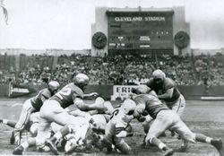 Browns vs. Bills in the old AAFC days