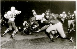 AAFC Action- Dodgers vs Yankees 1949