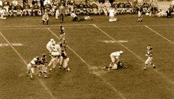 1954 Niners & Lions at Keazar Stadium