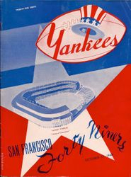 Niners at the Yankees 1948