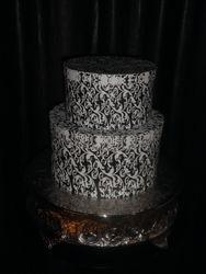 Chrome Round Cake Base