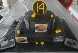 Retro Jordans Sneaker Cake