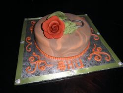 Money Pouch Birthday Cake
