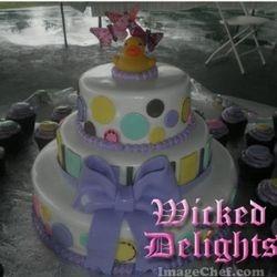 Unisex Babyshower Cake