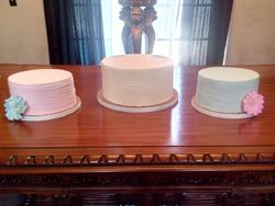 Country Vintage Themed Buttercream Cakes