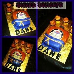 Crown Royal Fondant Cake