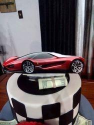Custom Acrylic Ferrari Topper