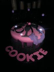 """Flirty """"30"""" Birthday Cake"""