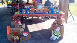 Toy Story Themed Dessert Table w/ Props