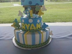 Babys 1st Mickey Bday Cake