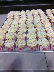 Popcorn Cupcakes Close up