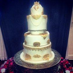 Royal Themed Wedding Cake