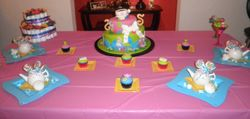 Alice & Wonderland Cake & Cupcakes