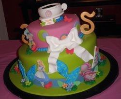 Alice & Wonderland Babyshower Cake