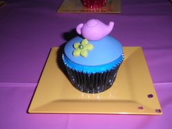 Alice & Wonderland Cupcake