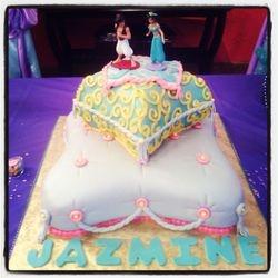 Princess Jazmines 1st Birthday Cake